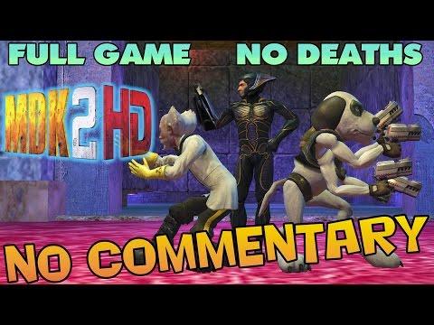 MDK 2 HD - Full Game Walkthrough