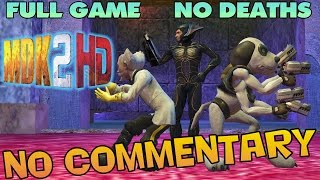 MDK 2 HD - Full Game Walkthrough 【NO Commentary】