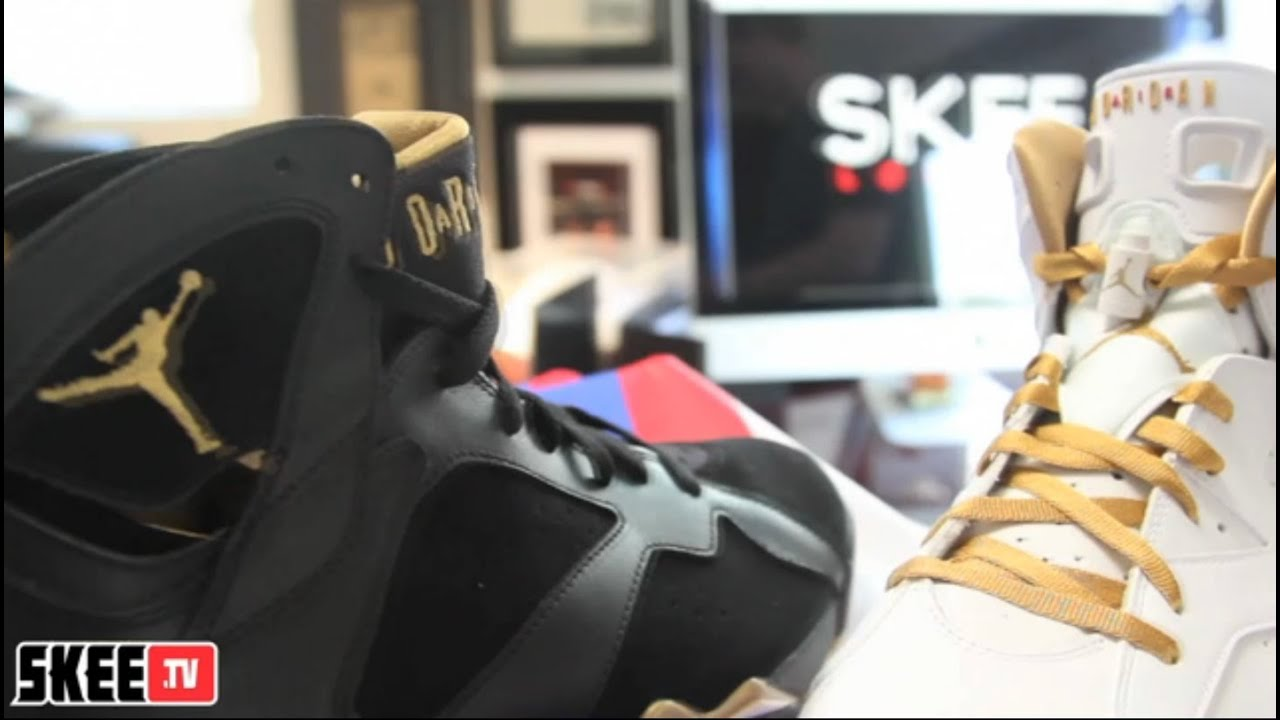 wholesale dealer c63dc eda55 Skee Locker  Air Jordan VI   VII