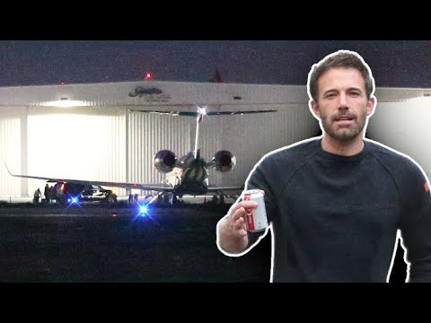 Ben Affleck Jets Town To Work On A New Project After Saying Goodbye To Jennifer Lopez