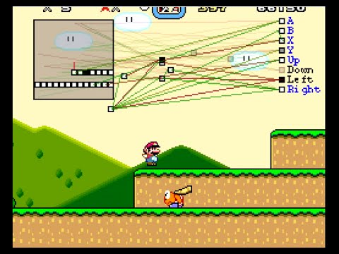 MarI/O - Machine Learning for Video Games