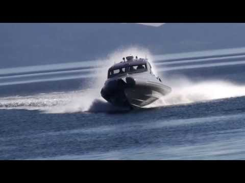 High speed interceptor - Super fast motor boat for special operations
