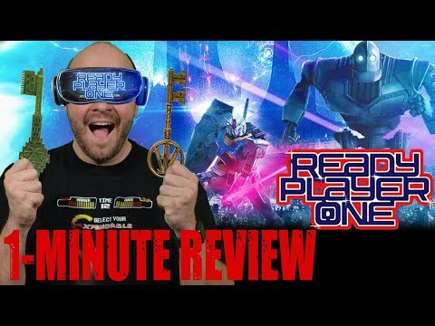 READY PLAYER ONE (2018) - One Minute Movie Review **SPOILER FREE**