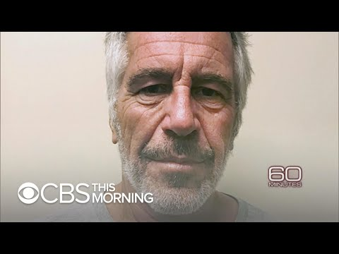 60 Minutes Goes Inside Jeffrey Epstein's Cell, Sunday