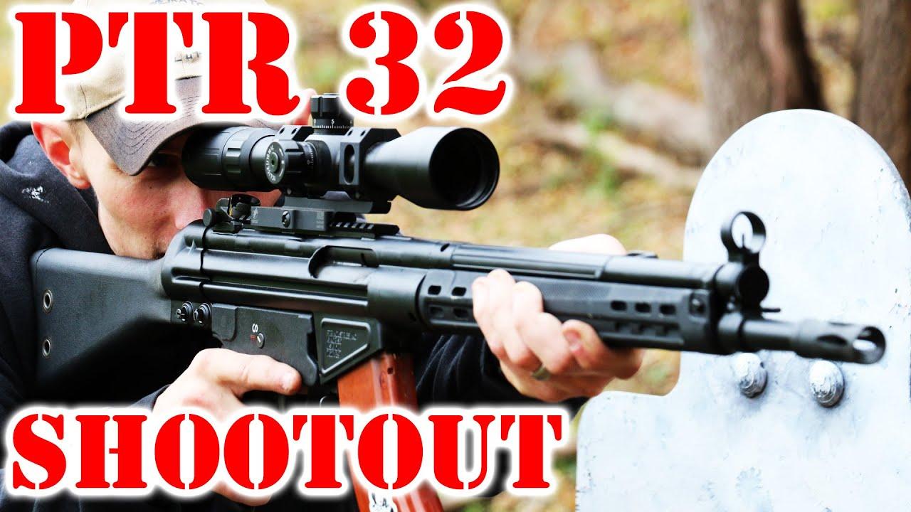 Ptr 32 shootout test youtube ptr 32 shootout test publicscrutiny Choice Image