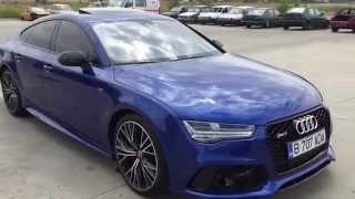 2015 audi a7 3 0 tdi quattro competition 346 hp rs7 look walk around