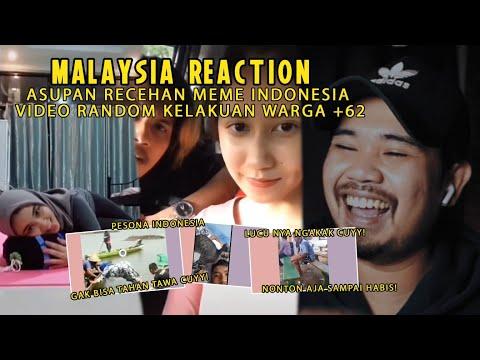 NGAKAK CUY! ASUPAN RECEH RANDOM WARGA +62! PESONA INDONESIA ! WKWKWK! [MALAYSIA REACTION]