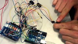 Lève vitre électrique commandé par un Arduino Uno