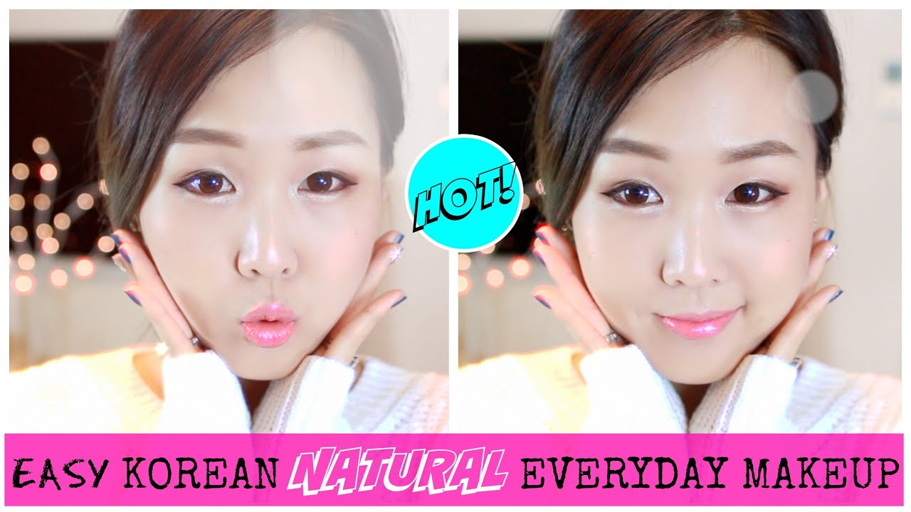 Easy korean natural everyday makeup youtube ccuart Images