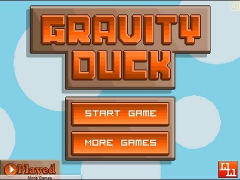 【XLGame的小品實況】『重力鴨Gravity Duck』-好歡樂的遊戲~~