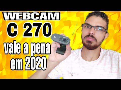 Webcam Logitech  C270   Ainda  Vale A Pena Compra Em  2020? Unboxing E Teste