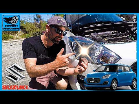 Suzuki Swift How To Replace Headlight H4 Bulb / Globe Replacement Installation Tutorial (A2L Maruti)
