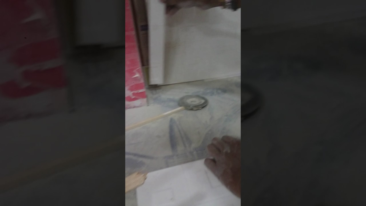 Tiling On Wood Wall Gluing Ceramic To Wood Youtube