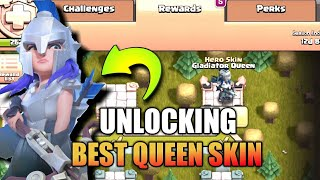 UNLOCKING THE BEST ARCHER QUEEN SKIN EVER !!!! | CLASH OF CLANS INDIA |