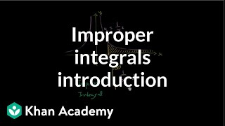 Introduction to improper integrals | AP Calculus BC | Khan Academy