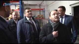"Министр экономики Октавиан Калмык посетил предприятие ""Transtest"" в Чадыр-Лунге"