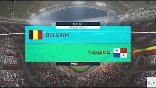 러시아 월드컵 벨기에 vs 파나마 매치 게임 경기 예측 하이라이트 영상