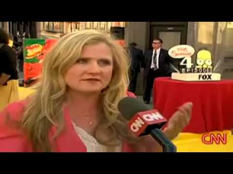 Media Response to Nancy Cartwright's use of Bart Simpson's voice to Promote Scientology