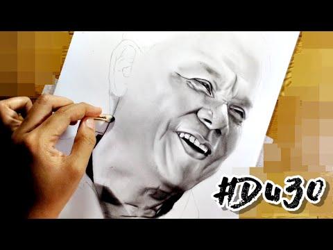 "Portrait of President Rodrigo ""Digong"" Duterte (Philippines)"