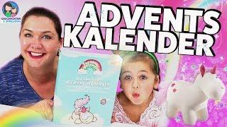 ALLES AUF EINMAL! Nici Einhorn Kosmetik Adventskalender 😆 💅  Geschichten und Spielzeug