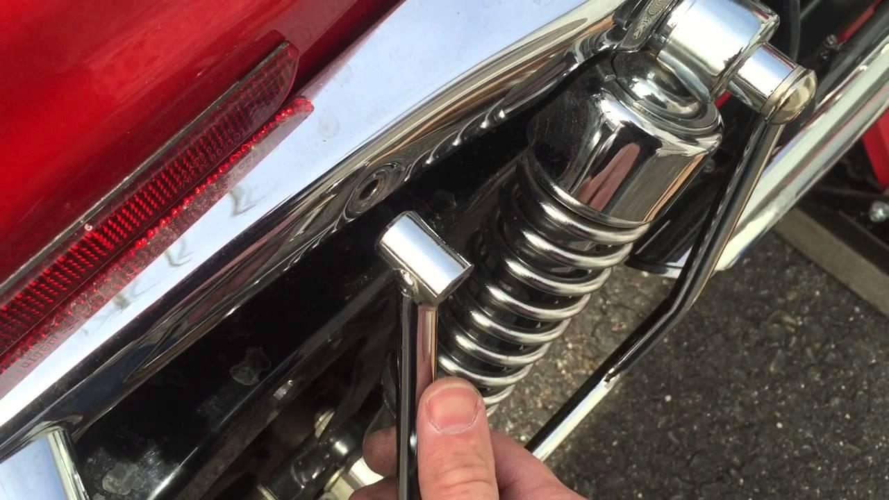 install saddlebag supports on a 2004 Harley-Davidson 883 ...