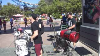 "Street Drum Corps - ""Bang!"" @ Magic Mountain 07.06.14"