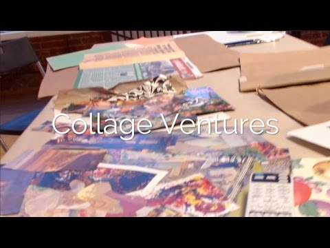 Collage Experience BYOB Manhattan NYC - Mixed Media Art Classes