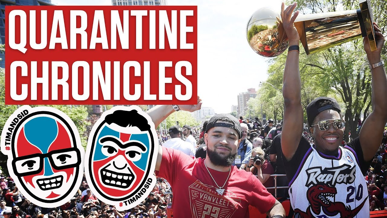 Quarantine Chronicles: Remembering The Raptors Parade with Dina Pugliese | Tim & Sid