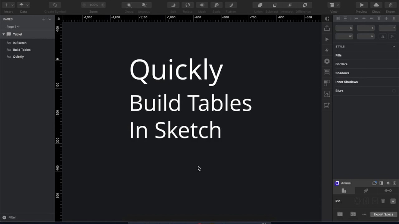 Quickly build tables in Sketch - Design + Sketch - Medium