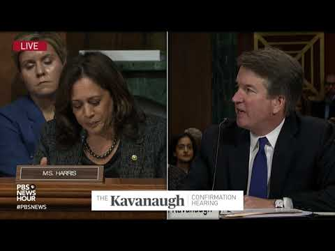 Harris to Kavanaugh: Are you willing to ask the White House to initiate an FBI investigation?