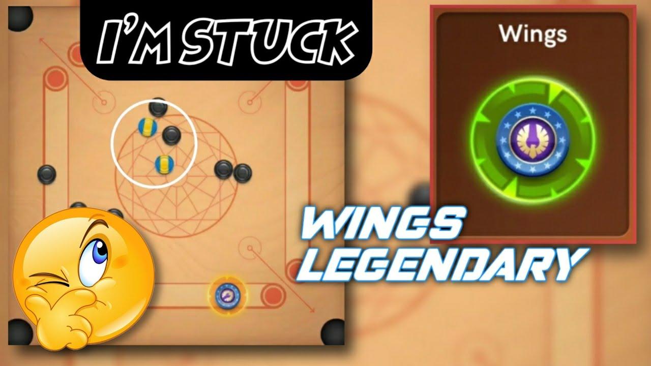 Wings Legendary Striker | Gameplay/Break to finish /kiss shots |CarromPoolPartha