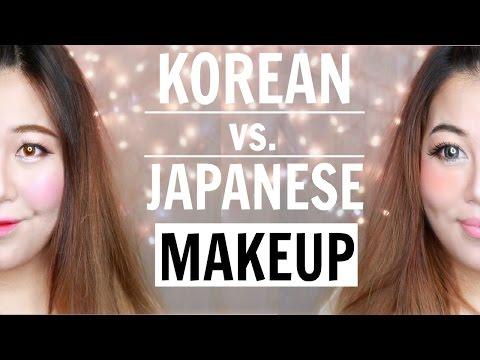 Korean Makeup Vs Japanese Makeup
