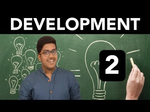 Economics: Development (Part 2)