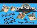 Training speed guide for Mightiest Governor event - Tip's and Advice's - Rise of Civilizations