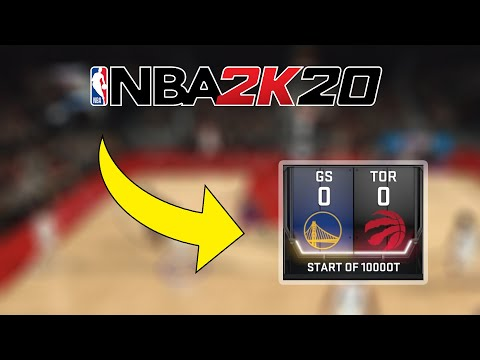 I Went To 1000 Overtimes In NBA 2K20... |