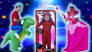 A NOVA BONECA DA LADYBUG GIGANTE GANHOU VIDA DE VERDADE ♥  Maloucos and new Ladybug doll