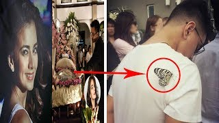 Butterfly Believed To Be As Isabel Granada Lands On Hubert Aguas During Actress' Funeral