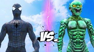 BLACK SPIDERMAN vs GREEN GOBLIN - Epic Battle