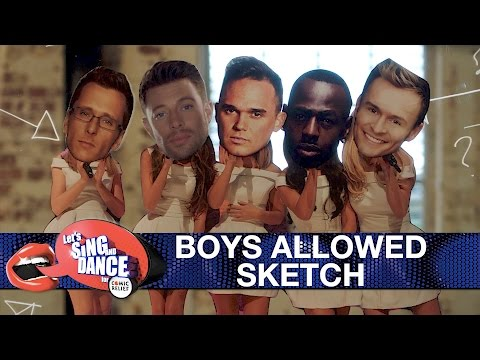 Get Boys Allowed sketch - Let's Sing and Dance for Comic Relief 2017 - BBC One Pics