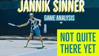 Hi everyone! here is a quick analysis of the up and coming italian, jannik sinner. i really like his game he has lot upside, but still needs bi...