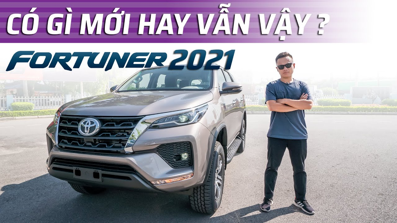 Toyota Fortuner 2021 đây rồi: thêm trang bị, giá giảm, quyết đấu SantaFe, Sorento