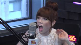 Carly Rae Jepsen In Studio | Interview | The Roz & Mocha Show on KiSS 92.5