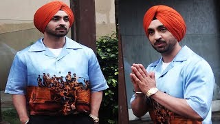 Diljit Dosanjh Spotted at Juhu for Promotion of film 'Soorma'   Bollywood Events