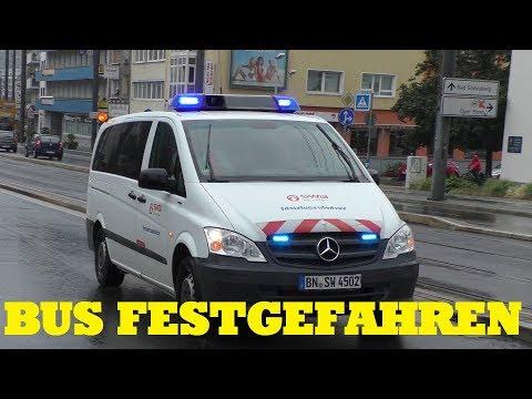 [LINIENBUS FESTGEFAHREN] EINSATZ FÜR DIE SWB BUS UND BAHN BONN