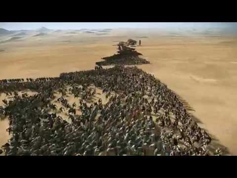 10,000 Spartans vs 40,000 Persians Rome 2 Total War