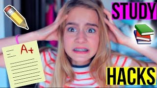 STUDYING LIFE HACKS! HOW TO GET AN A+ ON A TEST!