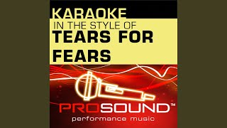 Mad World (Karaoke Lead Vocal Demo) (In the style of Tears For Fears)