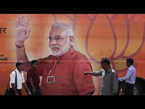 Indian election: Narendra Modi in 60 seconds