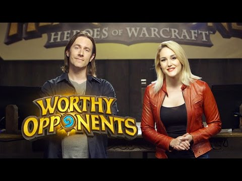 HEARTHSTONE: Heroes of Warcraft Show Coming Soon! (Worthy Opponents)