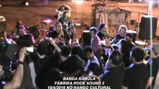FÁBRIKA ROCK SOUND 2 - NO RANGO CULTURAL  - BANDA KÁBULA